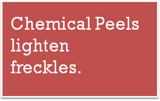 chemical peels for freckles