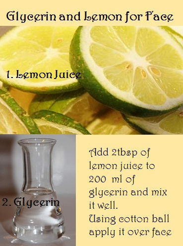10 Uses Of Glycerin And Lemon Juice For Face And Skin